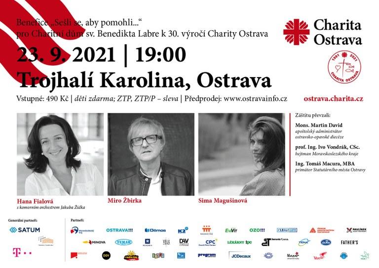 Benefiční koncert Charity Ostrava