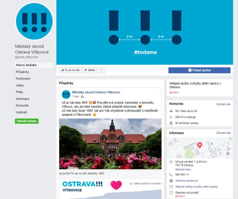 Facebook MOb Vítkovice