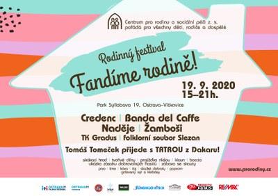 Festival FANDÍME RODINĚ!