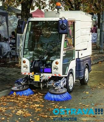 Hledáme zaměstnance na pozici:  Řidič a dělník čištění města s elektro/motorovým nářadím