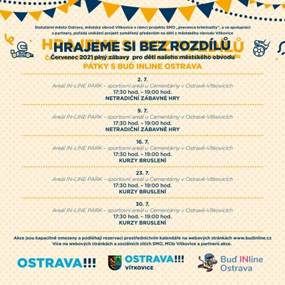 HRAJEME SI BEZ ROZDÍLŮ 2021 – Buď INline Ostrava
