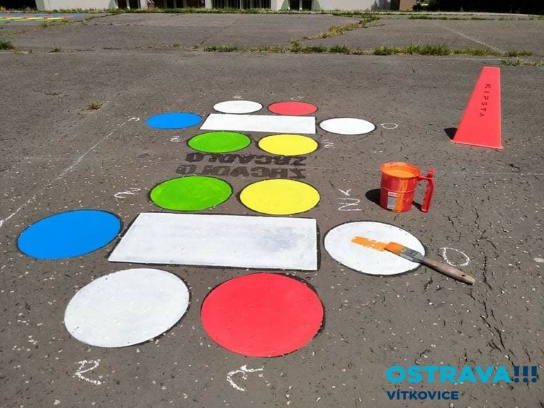 Hry na chodník - návody ke hrám