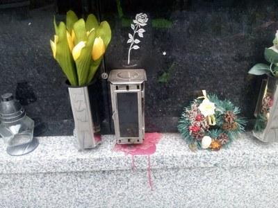 Kolumbária na vítkovickém hřbitově