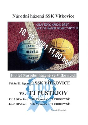 Národní házená SSK Vítkovice vás zve na volejbal