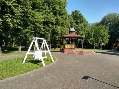 Nové houpačky v MOb Vítkovice