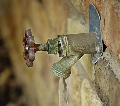 Odpojení užitkové vody - veřejné pohřebiště