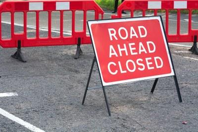 Prodloužení uzavírky silnice