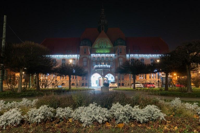 Světelná výzdoba ve Vítkovicích