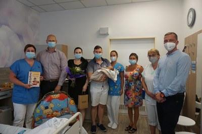 Vítkovická nemocnice přivítala na svět 1000. miminko