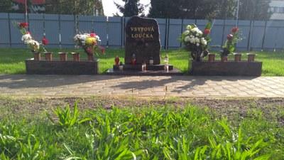 Vsypy na veřejném pohřebišti